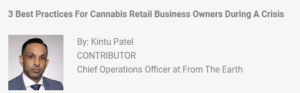 3 best practices for cannabis retail business owners during a crisis