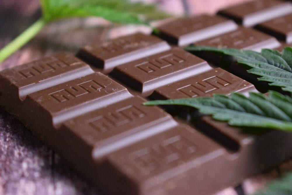 Cannabis choclate, edibles
