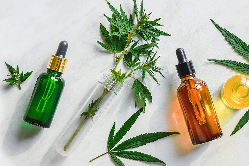 Cannabis wellness, tincutures