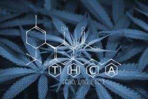 Marijuana compound formula THCA